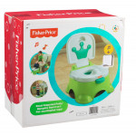 Fisher Price Stepstool Potty Green