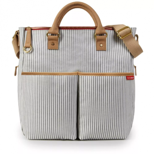 DUO SPECIAL EDITION DIAPER BAG - French stripes