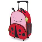 حقيبة مدرسية بعجلات بطبعة الفراشة للجنسين من سكيب هوب، متعددة الالوان