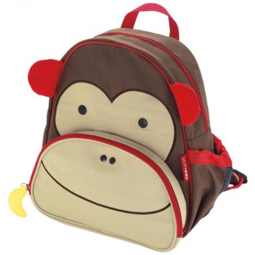 Skip Hop Little Kid Backpack - Monkey