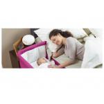 سرير أطفال شيكو نيكست 2 مي - وردي