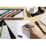 Stabilo Sensor Fineliner Marker Pen - Fine Point - 4 Color Set - Wallet