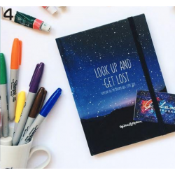 Galaxy Notebook - Blue