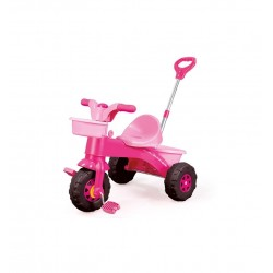 Dolu My First Trike with Parent Handle-Pink
