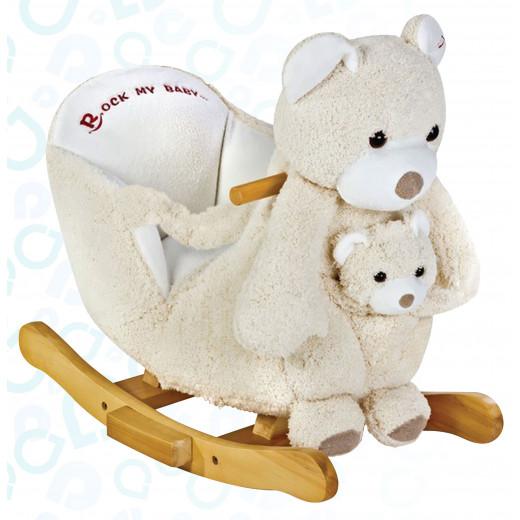 إي بيبي: كرسي هزاز للأطفال على شكل الدب