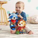 Skip Hop Bandana Buddies Soft Activity Toy, Lion