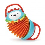 Skip Hop Baby Explore and More Musical Instrument Accordion Toy, Multi, Hedgehog
