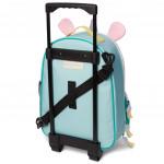 Skip Hop Zoo Little Kid Travel Rolling Luggage Backpack - Unicorn