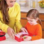 طقم حافظة الطعام للاطفال مع اشكال حديقة الحيوان من سكيب هوب, خنفساء
