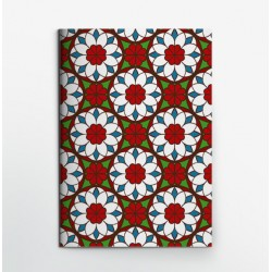 Colors & Shapes Window Flower Notebook