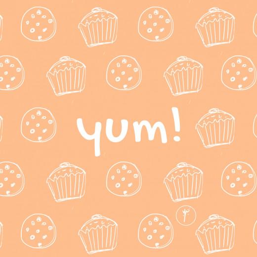 YM Sketch-Yum Coasters