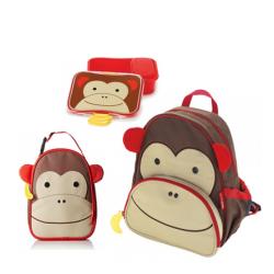 مجموعة حقائب للاطفال متعددة الالوان من سكيب هوب , مونكي
