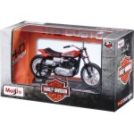 Maisto Die-cast 1:18 HD Series 28-33 Motor Cycle with Stand, Assorted