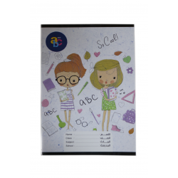 ABC Sleeved notebook English 60 pages / So Cool