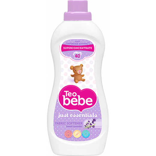 Teo Bebe Detergent And Fabric Softener Super Concentrated 1 Liter (Lavender)