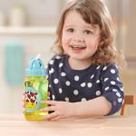 قارورة ماء مع مصاصة لتدريب لاطفال الصغار على الشرب بشكل طبيعي من سكيب هوب, بقرة