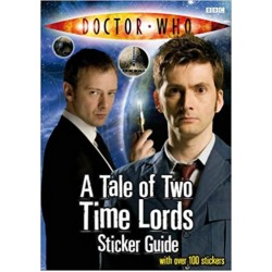 Doctor who : A Tale of Two Time Lords Sticker Guide
