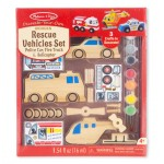melissa & doug Rescue Vehicles Set