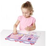 Melissa & Doug Puffy Stickers Play Set: Princess