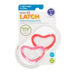 Munchkin Latch Pacifier 0+ - 2 Pack Pink/Red