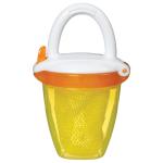 علبة تغذية طعام طازجة ديلوكس من مانشكين (اصفر / برتقالي)
