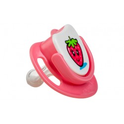 Pigeon Silicone Pacifier Step 1 - (Strawberry)