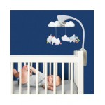 Skip Hop Moonlight & Melodies Projection Mobile Clouds