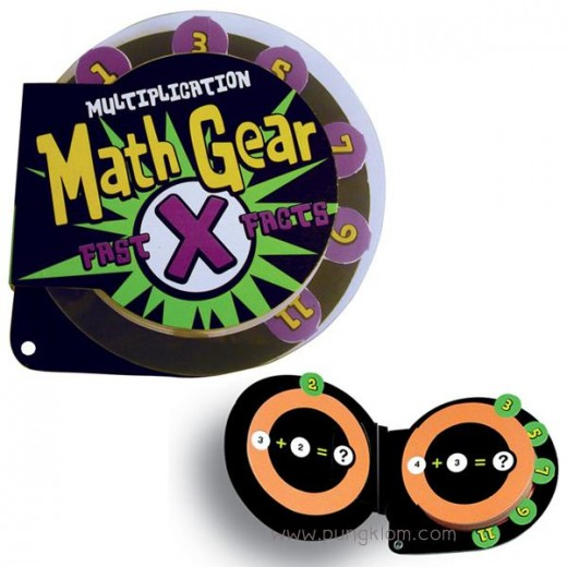 Math Gear Fast Facts Multiplication