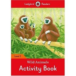 Ladybird Readers Level 2 - Wild Animals Activity Book