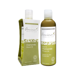Amina's Chamomile Shower Oil 250ml