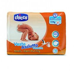 حفاضات شيكو فيست أسكيوتو لحديثي الولادة 2-5 كجم مقاس عبوة من 20 قطعة