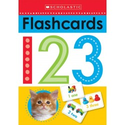 Scholastic Early Learners Write and Wipe Flashcards:123 Cards