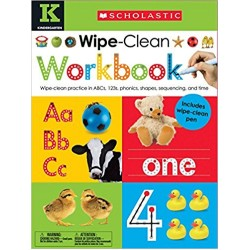 Wipe Clean Workbook: Kindergarten