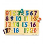 Melissa & Doug Numbers Sound Puzzle - 21 Pieces