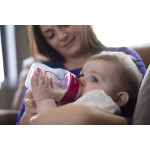 Tommee Tippee Advanced Anti Colic Decorated Bottle, 340 ml, Girl