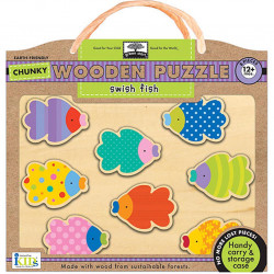 Wodden Puzzles -Switsh - fish