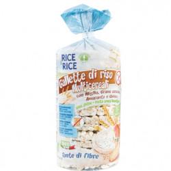 Probios Rice & Rice Organic Rice Cakes With Grain 100g