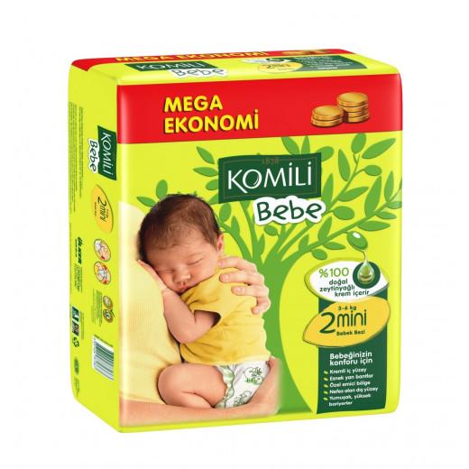 KOMiLi Bebe Jumbo Size 2 Mini 3-6 Kg 78 PCS
