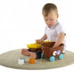 لعبة فرز الأشكال مع صندوق القراصنة لتنمية مهارات الطفل من شيكو