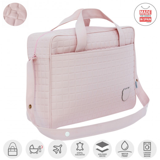 Cambrass Maternity Bag ,Gofre-Pink