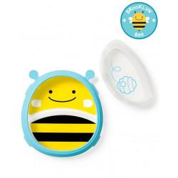 Skip Hop Zoo Smart Serve Plate & Bowl Bee