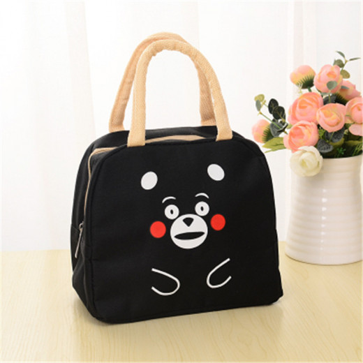 Lunch Bag Insulated Cooler Bag - Black Bear
