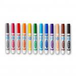 أقلام 1X12 12 أقلام نظيفة للغاية قابلة للغسل