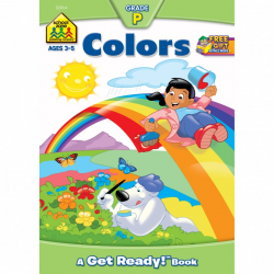 School Zone - Colors Workbook Grade P A Get Ready Book