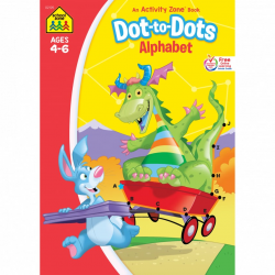School Zone - Dot-to-Dot Alphabet Activity Zone