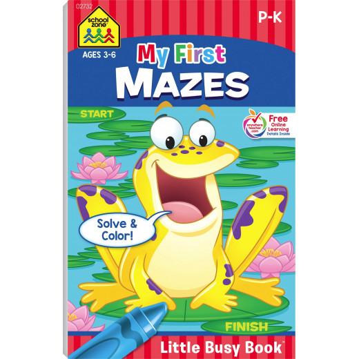 School Zone - My First Mazes Little Busy Book