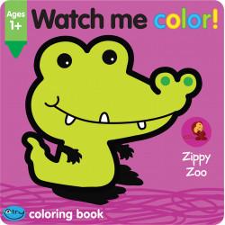 كتاب شاهدني بالألوان حديقة حيوان زيبي من سكول زون
