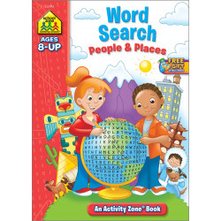 School Zone - Word Search People & Places Activity Zone