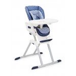 كرسي مرتفع  ميمزي من جوي ، لون أزرق وأبيض