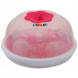 Farlin - Microwave Steam Sterilization Set - Pink